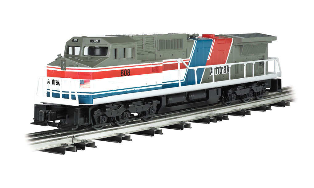 Amtrak - Dash 9 Powered