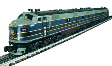 Baltimore & Ohio - E-7 Powered A/ Dummy A Set