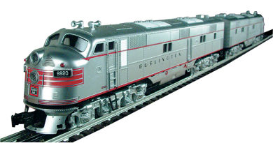 Burlington - E-7 Powered A/ Dummy A Set