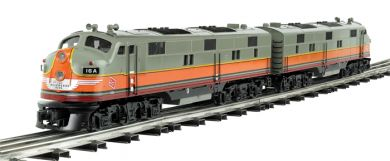 Milwaukee Road - E-7 Powered A/ Dummy A Set