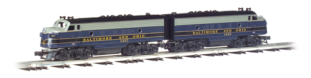 Baltimore & Ohio® - F-7 Powered A/Dummy Set - Click Image to Close