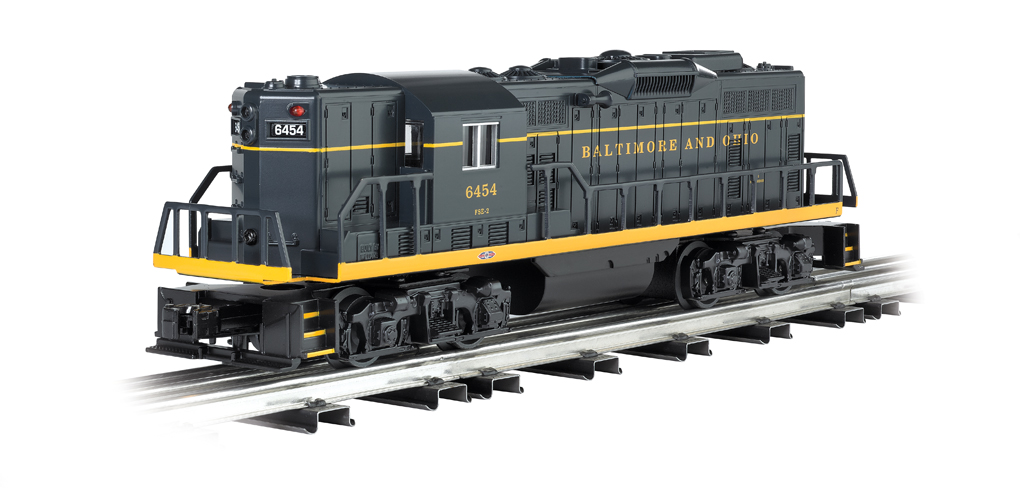 Baltimore & Ohio - Early Version - GP9 Powered