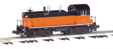 Milwaukee Road - NW-2 Switcher Powered