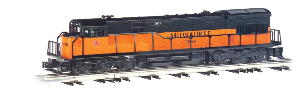 Milwaukee Road - U33C Powered