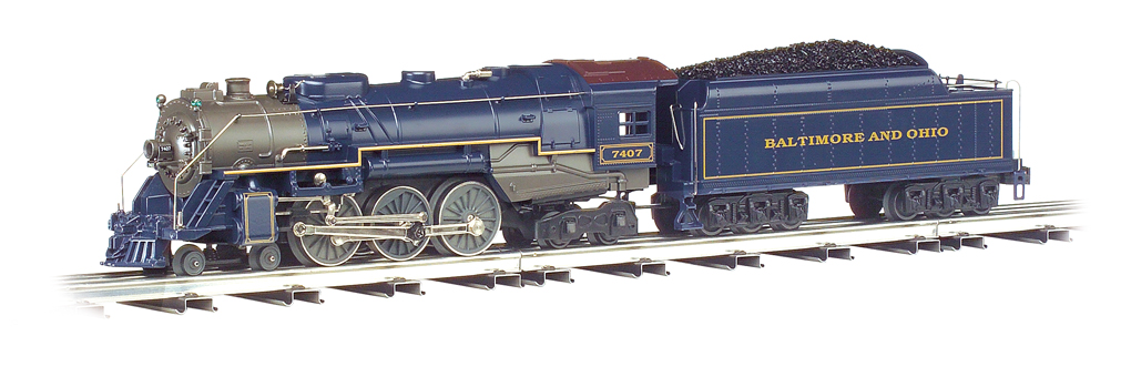 Baltimore & Ohio® - Semi-Scale O-27 Hudson 4-6-4