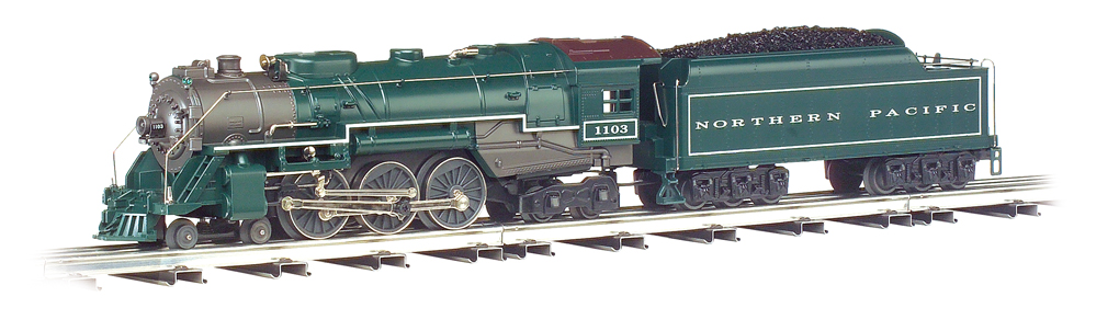 Northern Pacific - Semi-Scale O-27 Hudson 4-6-4