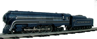 Baltimore & Ohio® -Cincinattian - J Class 4-8-4
