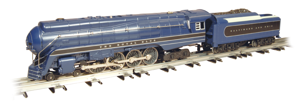 Baltimore & Ohio - Royal Blue - J Class 4-8-4