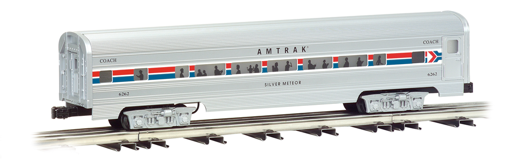 Amtrak - 60' Aluminum Streamliners 4 Car Set