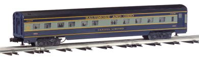 Baltimore & Ohio® - 72' Scale Streamliners 2 Car Add-On