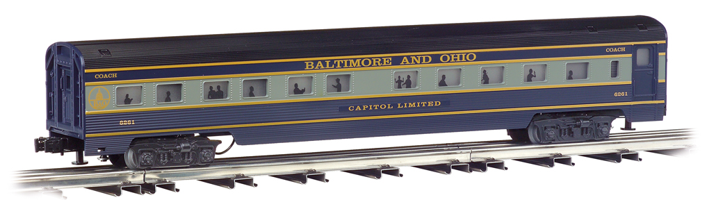 Baltimore & Ohio® - 72' Scale Streamliners 4 Car Set