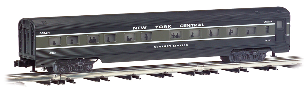 New York Central - 72' Scale Streamliners 4 Car Set