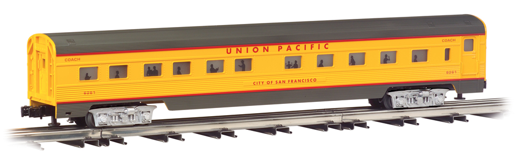 Union Pacific® - 72' Scale Streamliners 4 Car Set