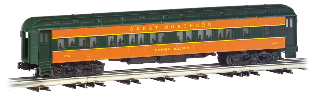 Great Northern - 72' Scale Heavyweights 4 Car Set