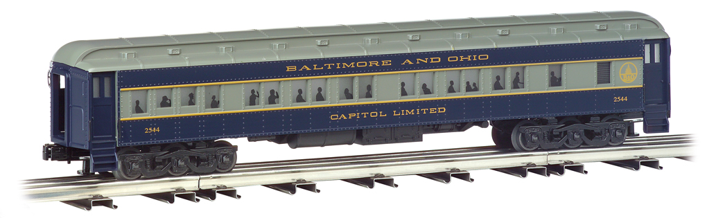 Baltimore & Ohio® - 72' Scale Heavyweights 4 Car Set