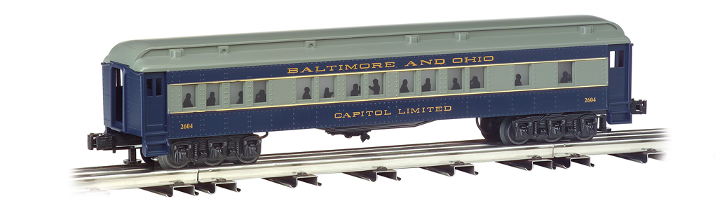 Baltimore & Ohio® - 60' Semi Scale Madison 4 Car Set
