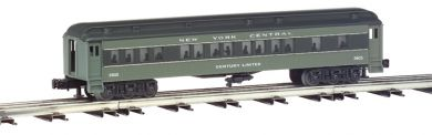 New York Central - 60' Semi Scale Madison 4 Car Set