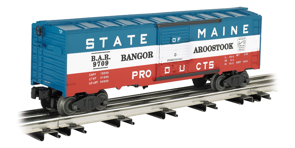 Bangor & Aroostook - State of Maine - 40' Box Car
