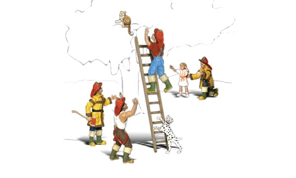 No.1882 Firemen to the Rescue HO