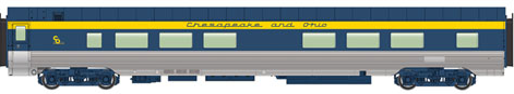 Walthers #920-9522 85' Pullman-Standard 52-Seat Coach #1622