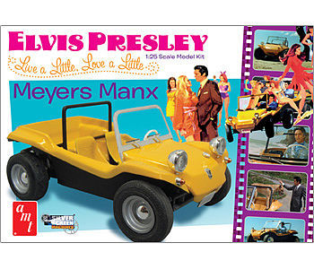 1/25 Scale Elvis Presley Meyers Manx Plastic Model Kit
