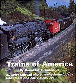 Trains of America Hardcover Book - 2nd Edition