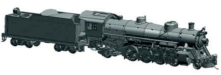 USRA Light Mikado 2-8-2