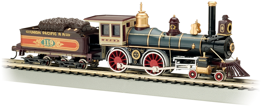 American 4-4-0 ALL NEW TOOLING