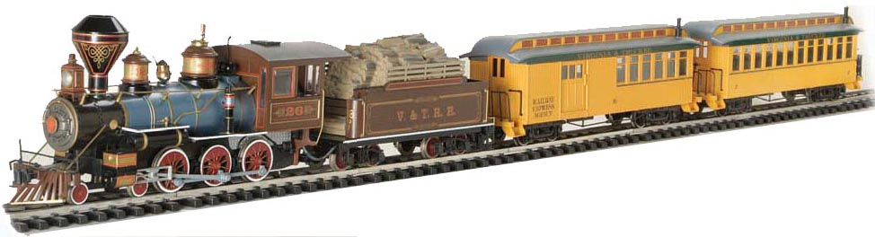 Bachmann Industries Lil Big Haulers Coach G-Scale Short Line Railroad with Yellow//Silver Roof Large 97097