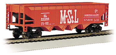 n Scale 40' Quad Hopper