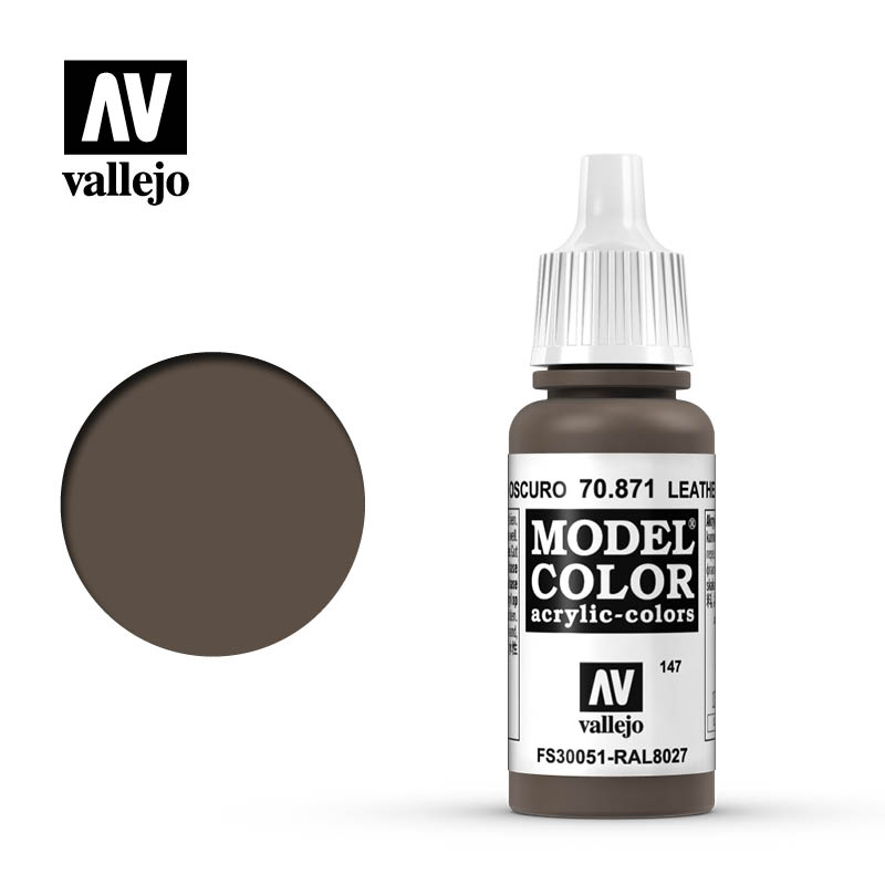 70.871 Leather Brown Vallejo 17ml 147