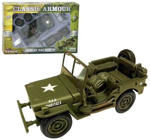 Classic Armour Jeep Willys Model Kit